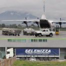 Sending of 15 tons of Selenizza by aircargo