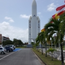 European Space Center Kourou French Guyana ARIANE VI ROCKET LANE