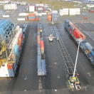 2016 phase of renforcement works on the Saint Nazaire container platform