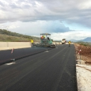 E75 highway section, Stylida, Greece - sept. 2014